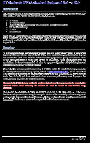 BTW-IPVS-Authorised-Equipment-List-1